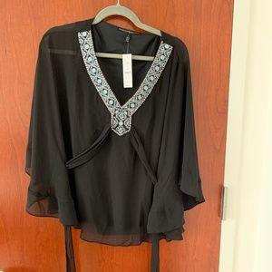 WHBM Kimono Blouse - Brand New, Tags On!